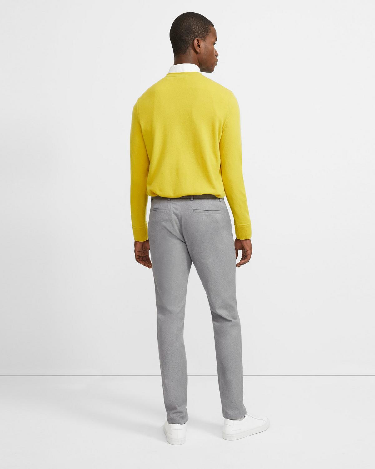Stretch Cotton Slim-Straight Pant