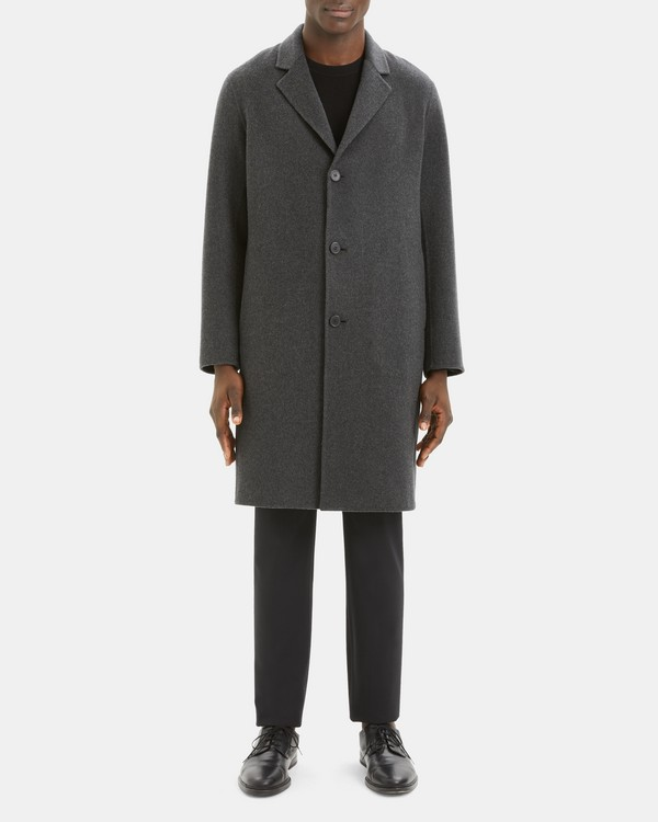 Suffolk Coat in Double-Face Cashmere