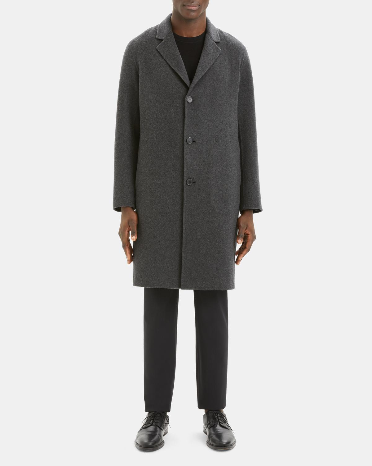 Double-Faced Cashmere Suffolk Coat