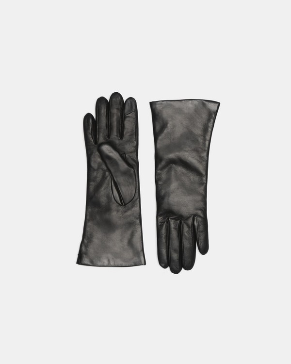 띠어리 장갑 Theory Tech Gloves in Leather