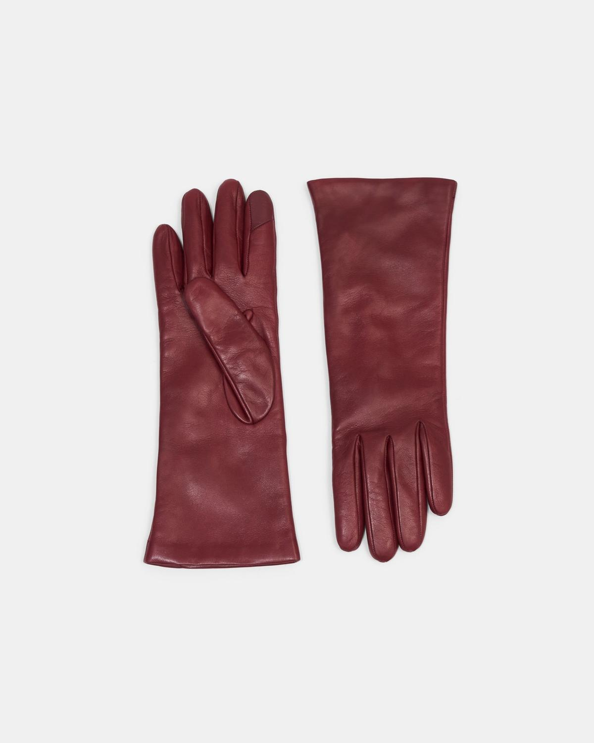 Tech Gloves in Leather