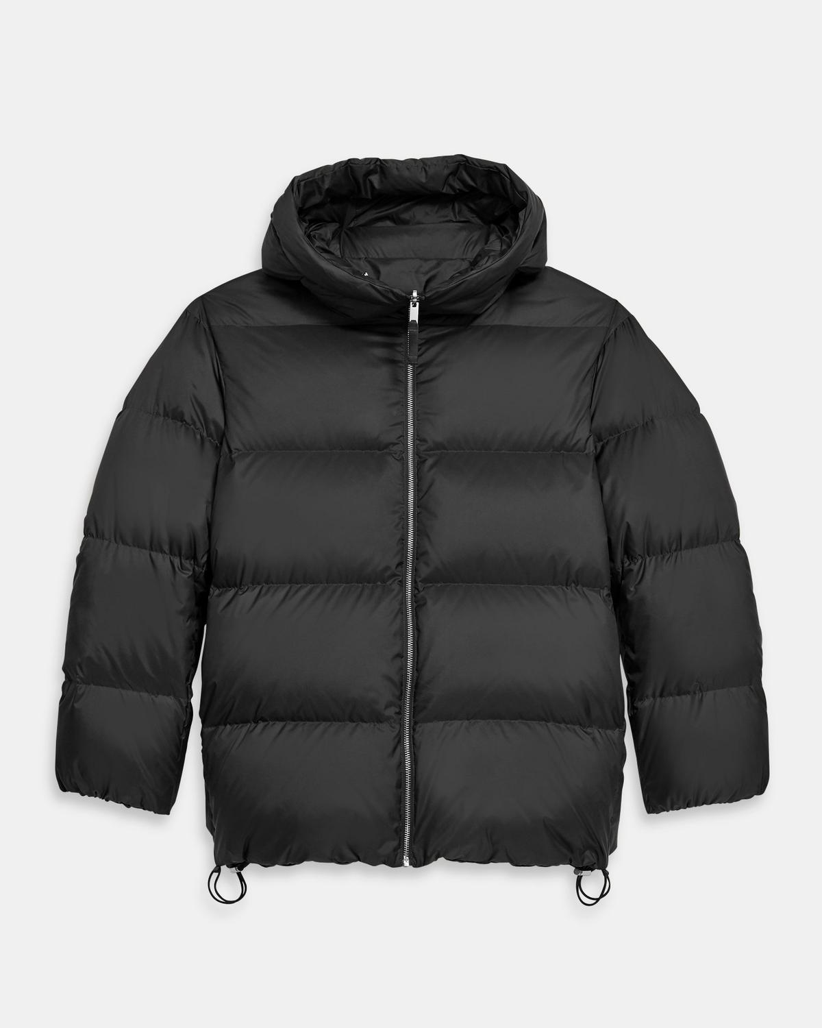 Reversible Puffer Jacket in Quilted Poly