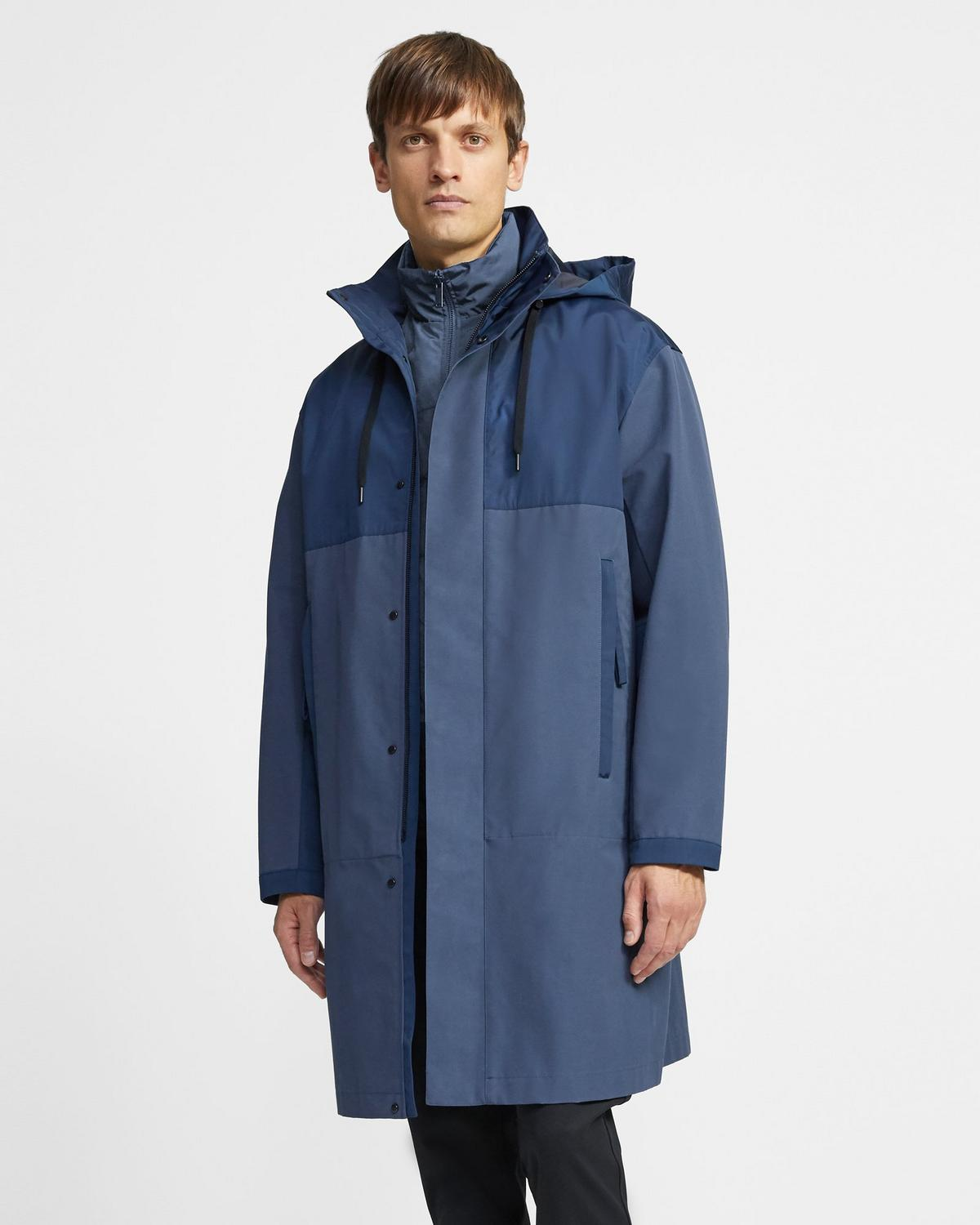 Philip 3-in-1 Parka in Cotton Blend