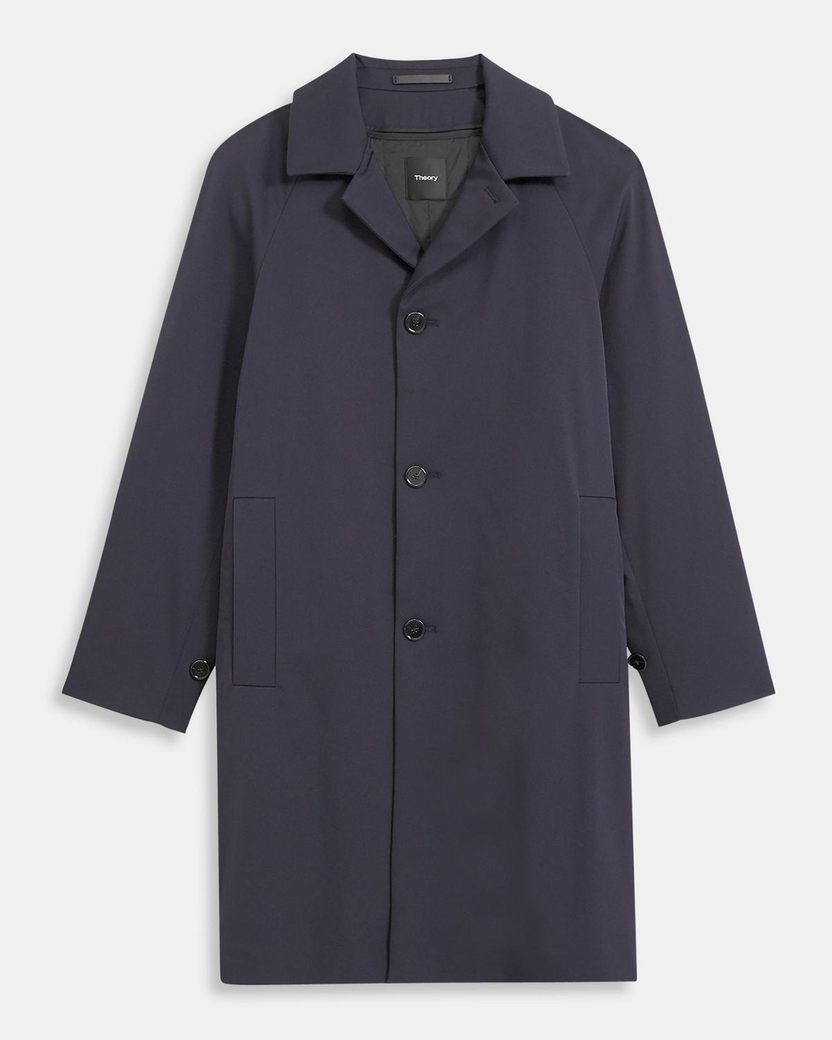 Saville Coat in Technical Twill