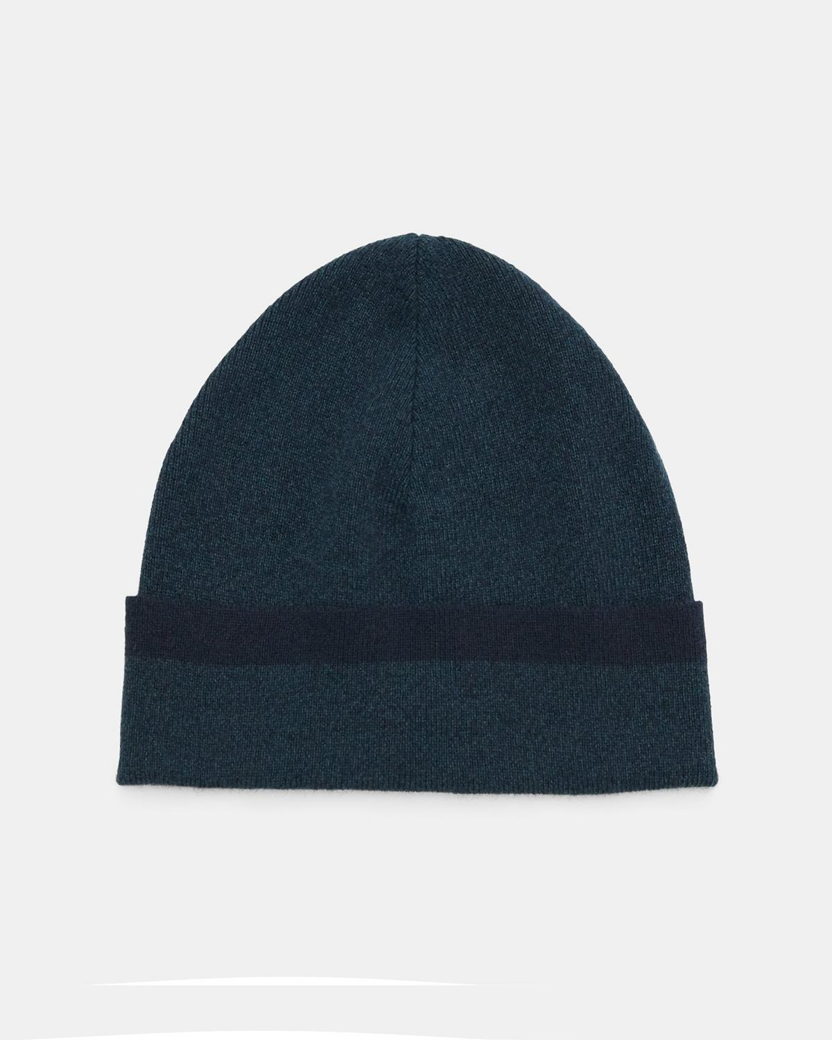 Tipped Beanie in Cashmere