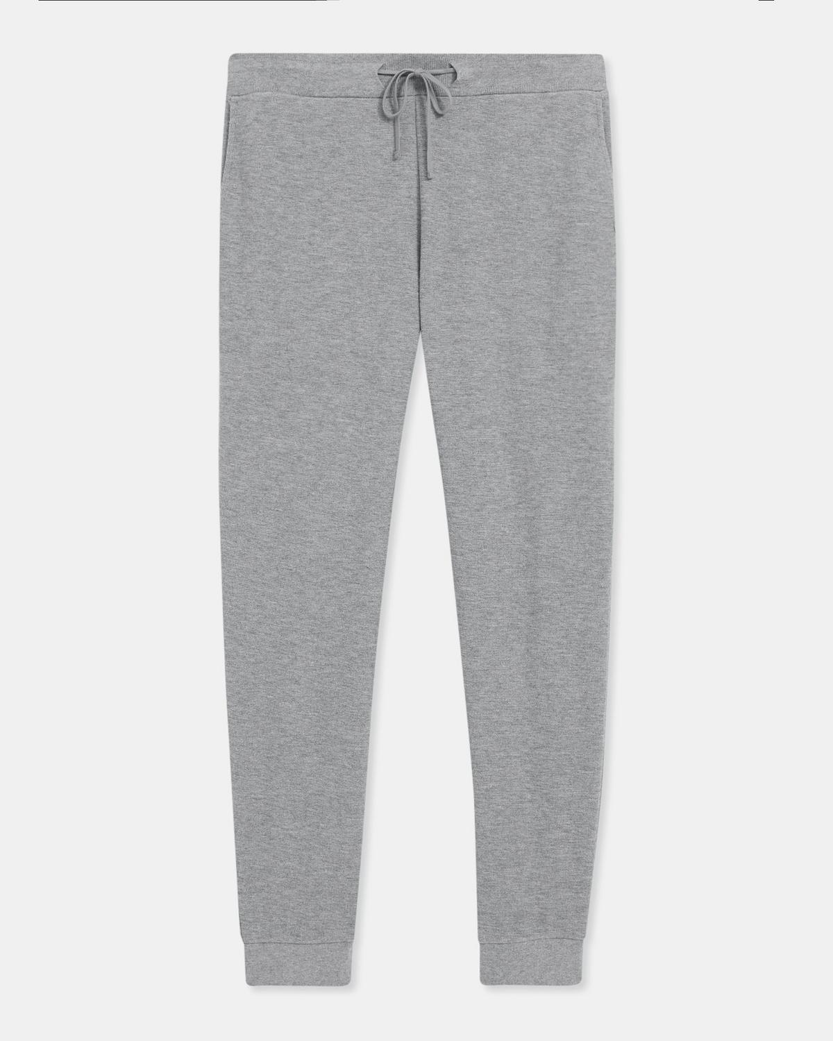 Jogger in Waffle Knit Organic Cotton