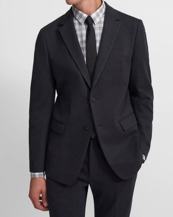 띠어리 맨 수트 자켓 Theory Unstructured Suit Jacket In Viscose Jacquard,ECLIPSE MULTI