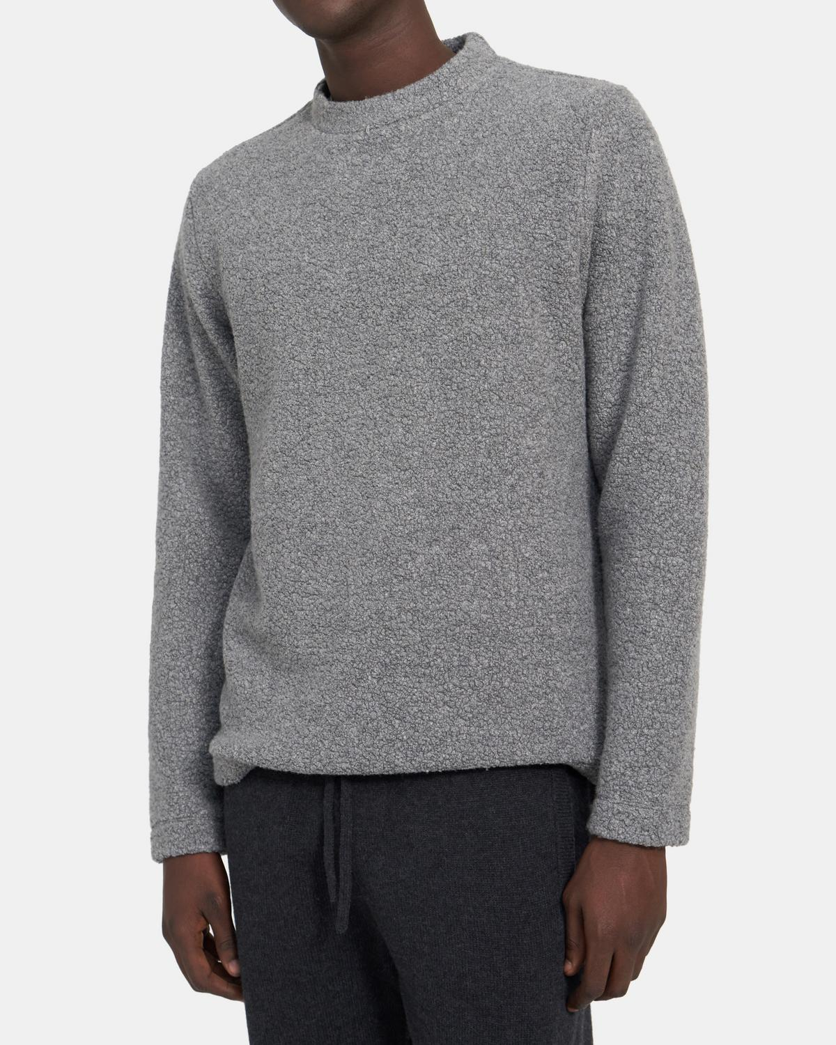 Sweater in Cashmere Boucle