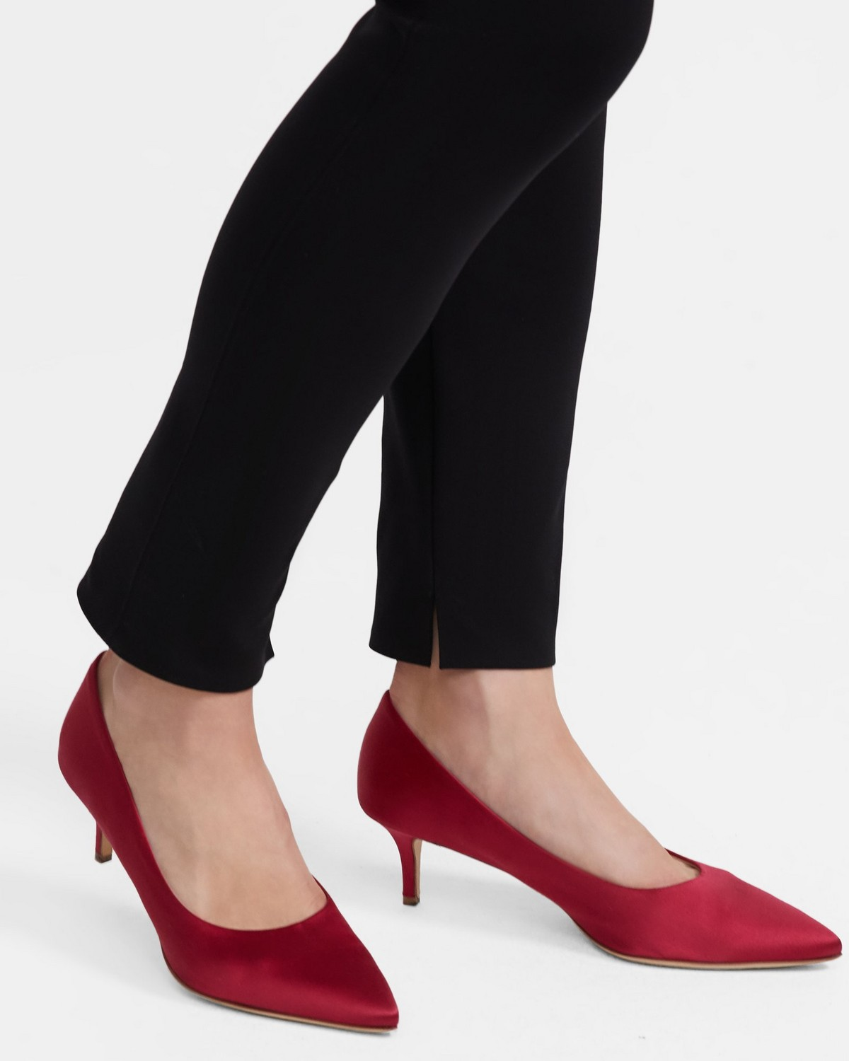 City 55 Pump in Satin