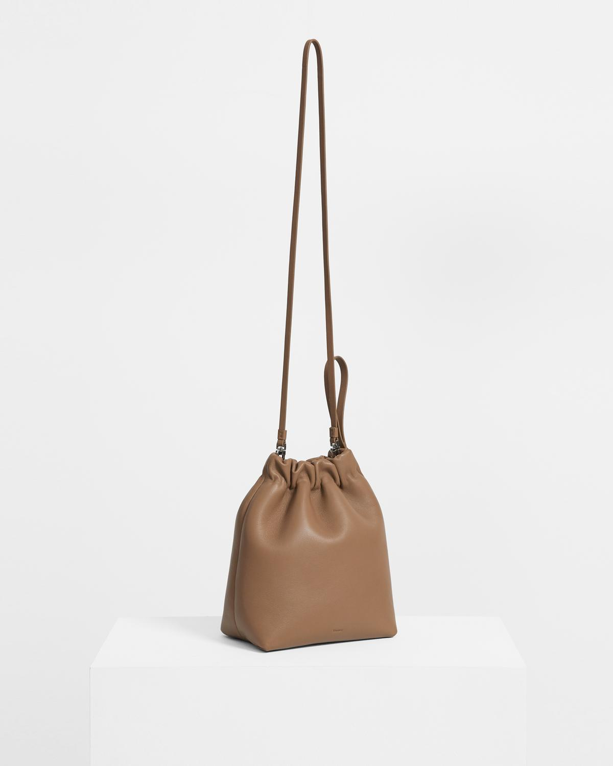 Cinch Sack in Leather