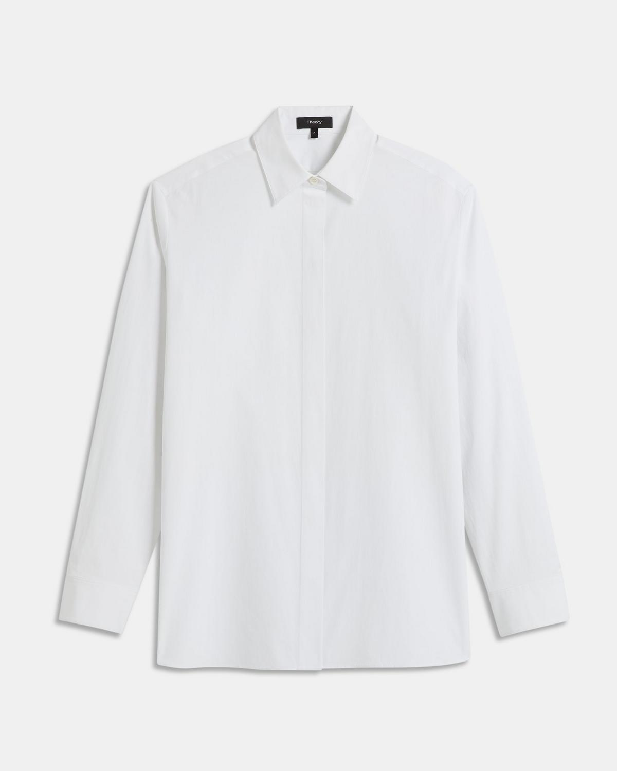 Menswear Shirt in Good Cotton