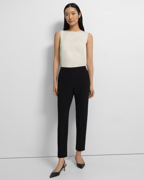 Treeca Pull-On Pant in Crepe