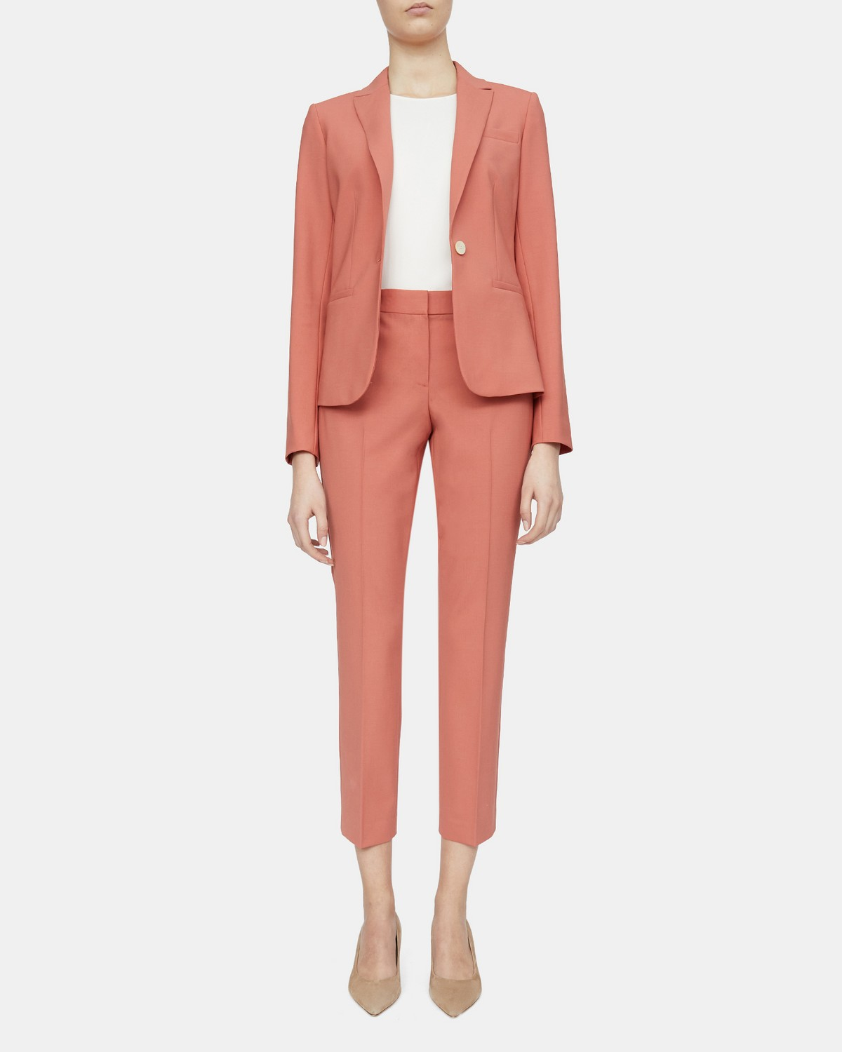 Slim-Fit Blazer in Stretch Wool
