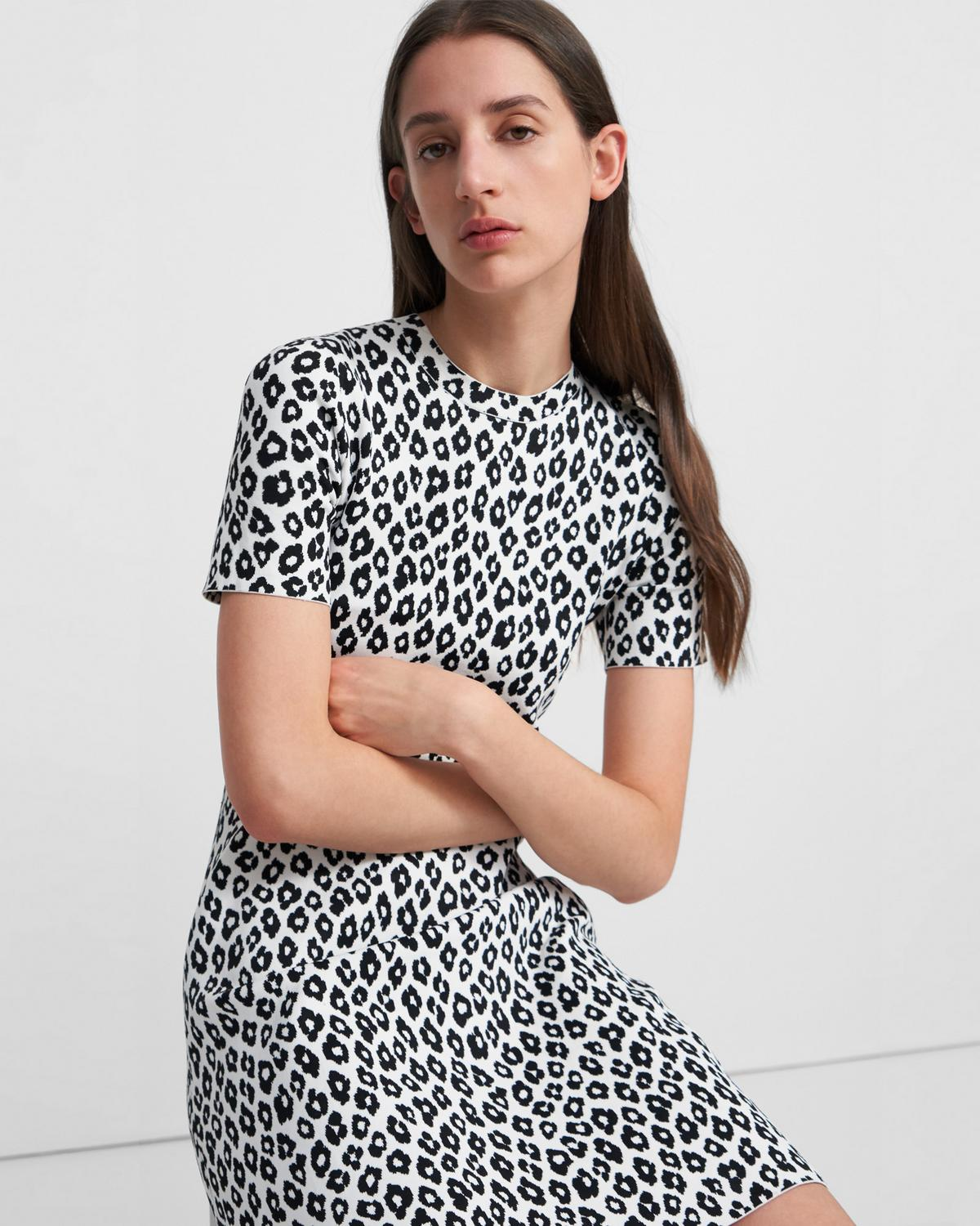 LEOPARD TEE DR