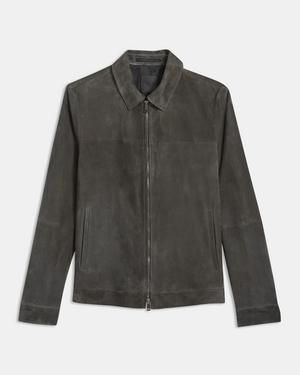 Zip Jacket in Suede