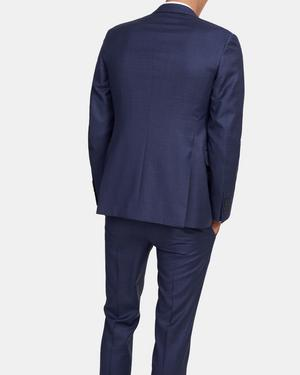 Bowery Blazer in Check Wool