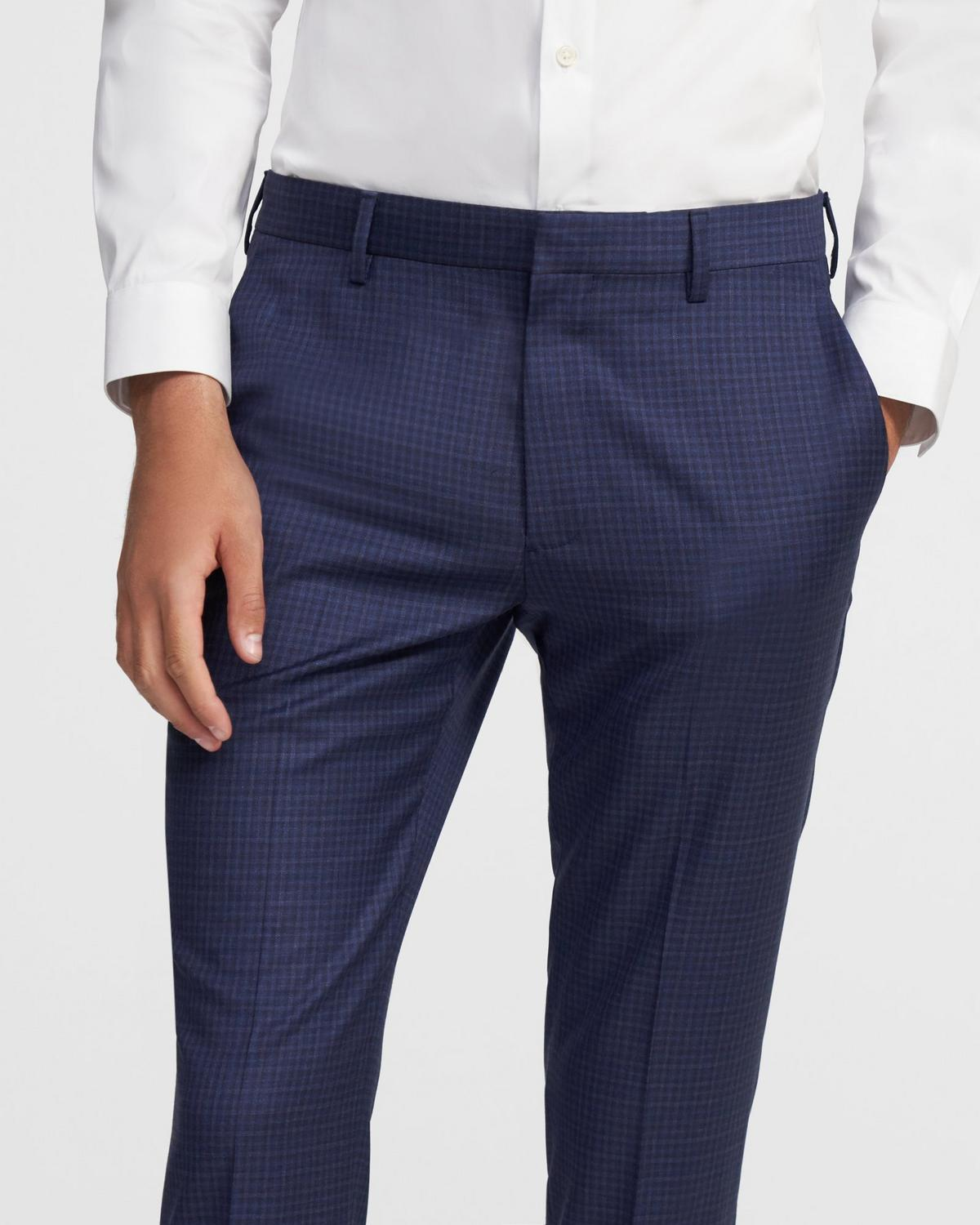 Zaine Pant in Check Wool