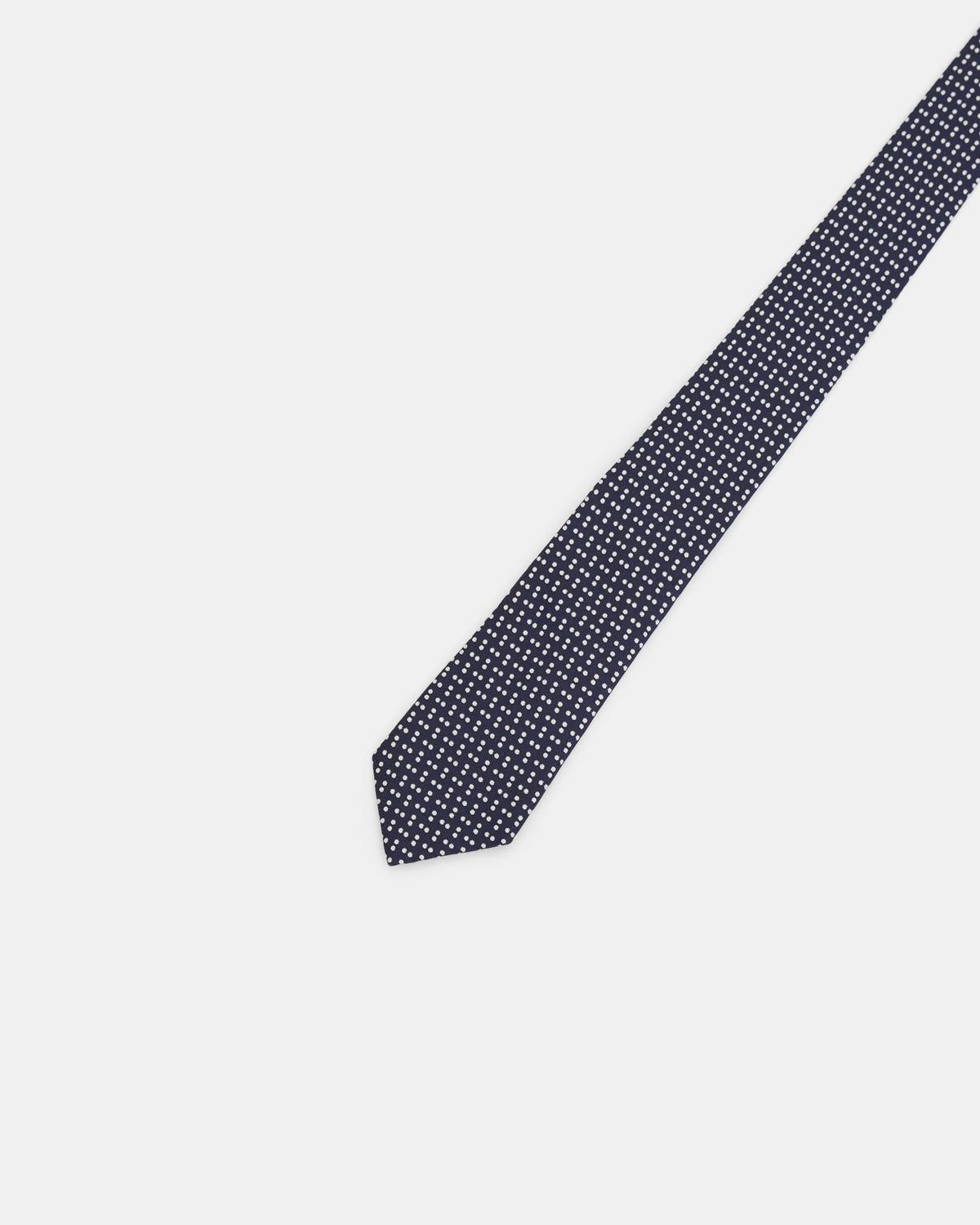 Roadster Tie in Dotted Silk