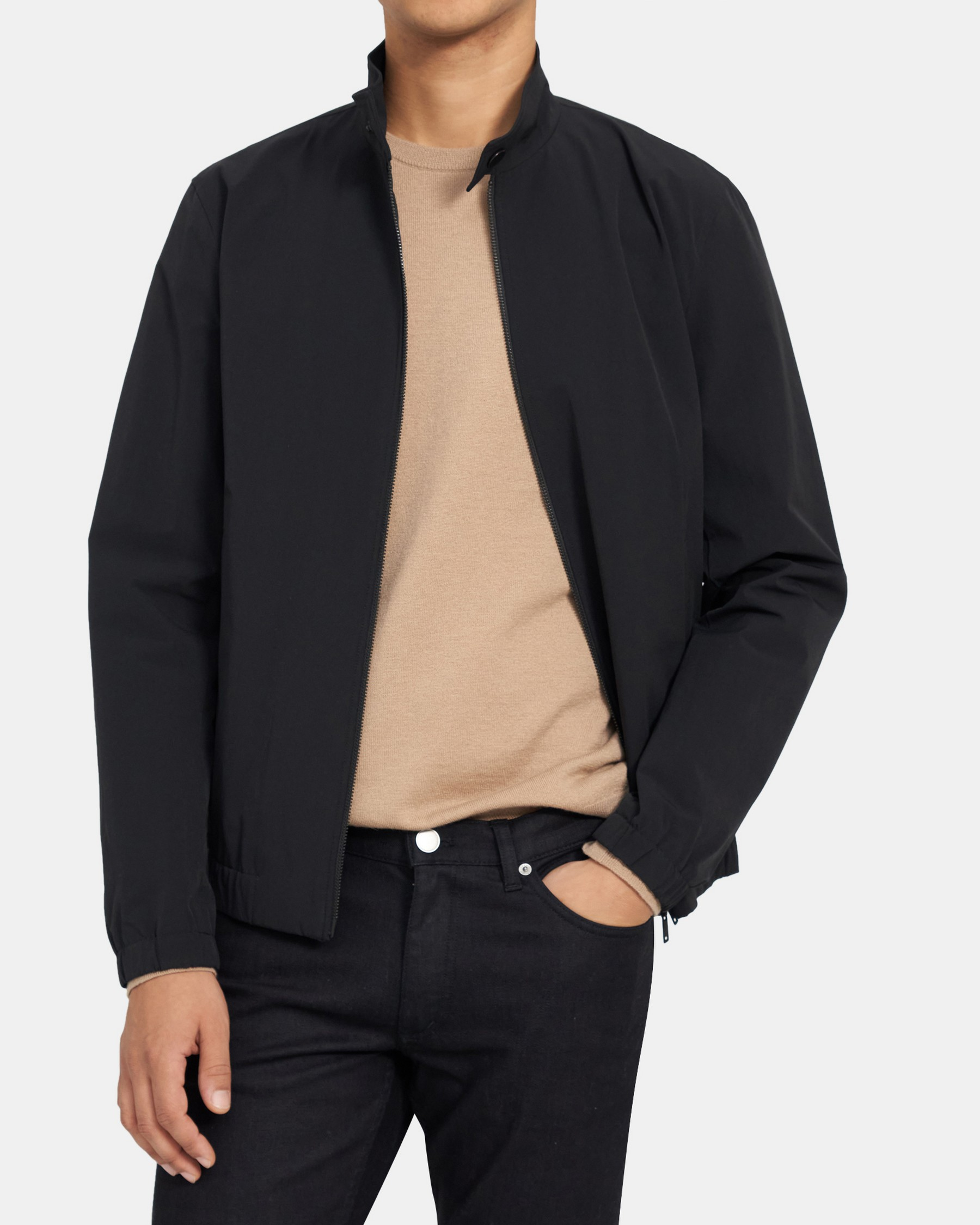 Theory Jamie Jacket in Cotton