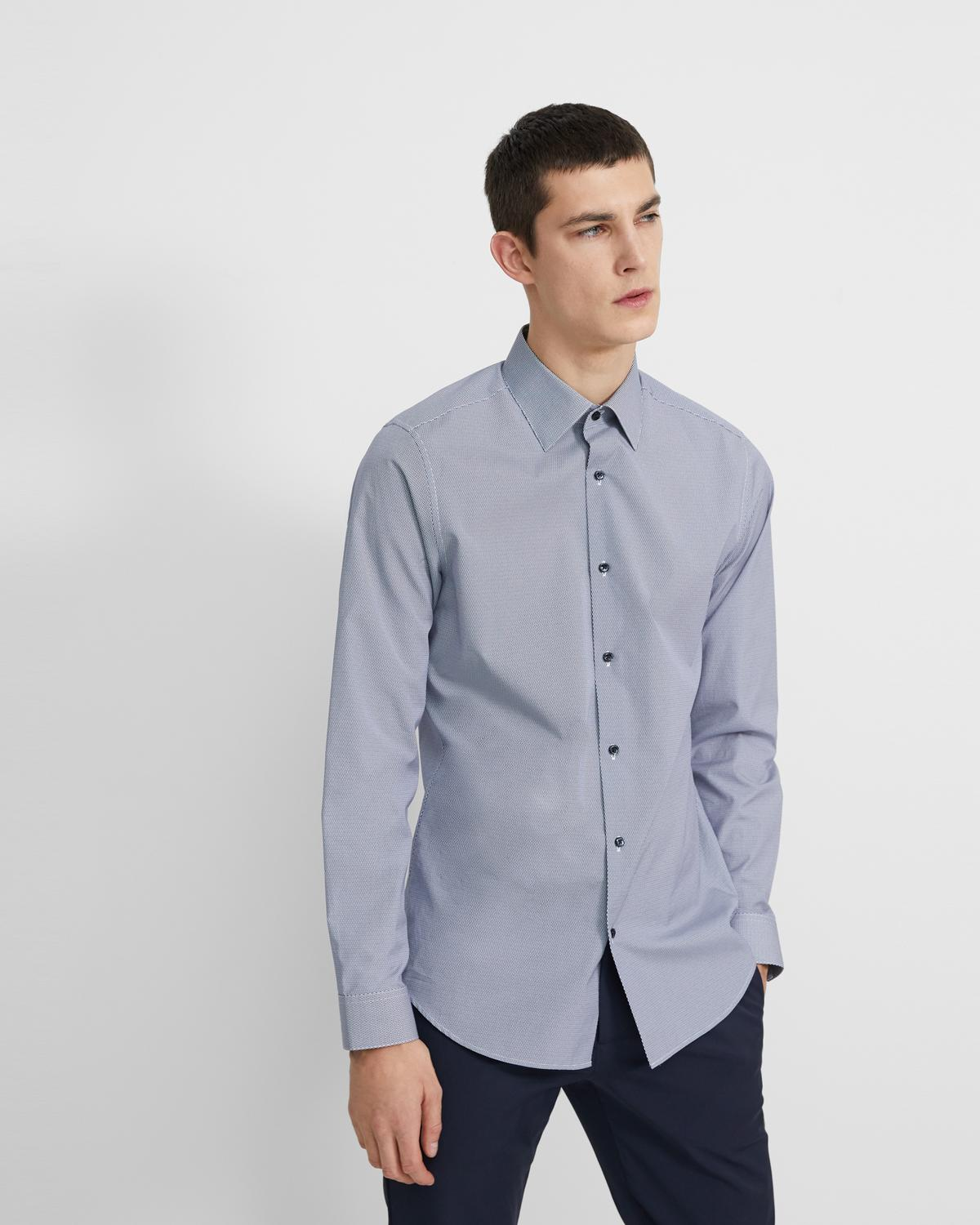 Cedrick Dress Shirt in Graphic Cotton