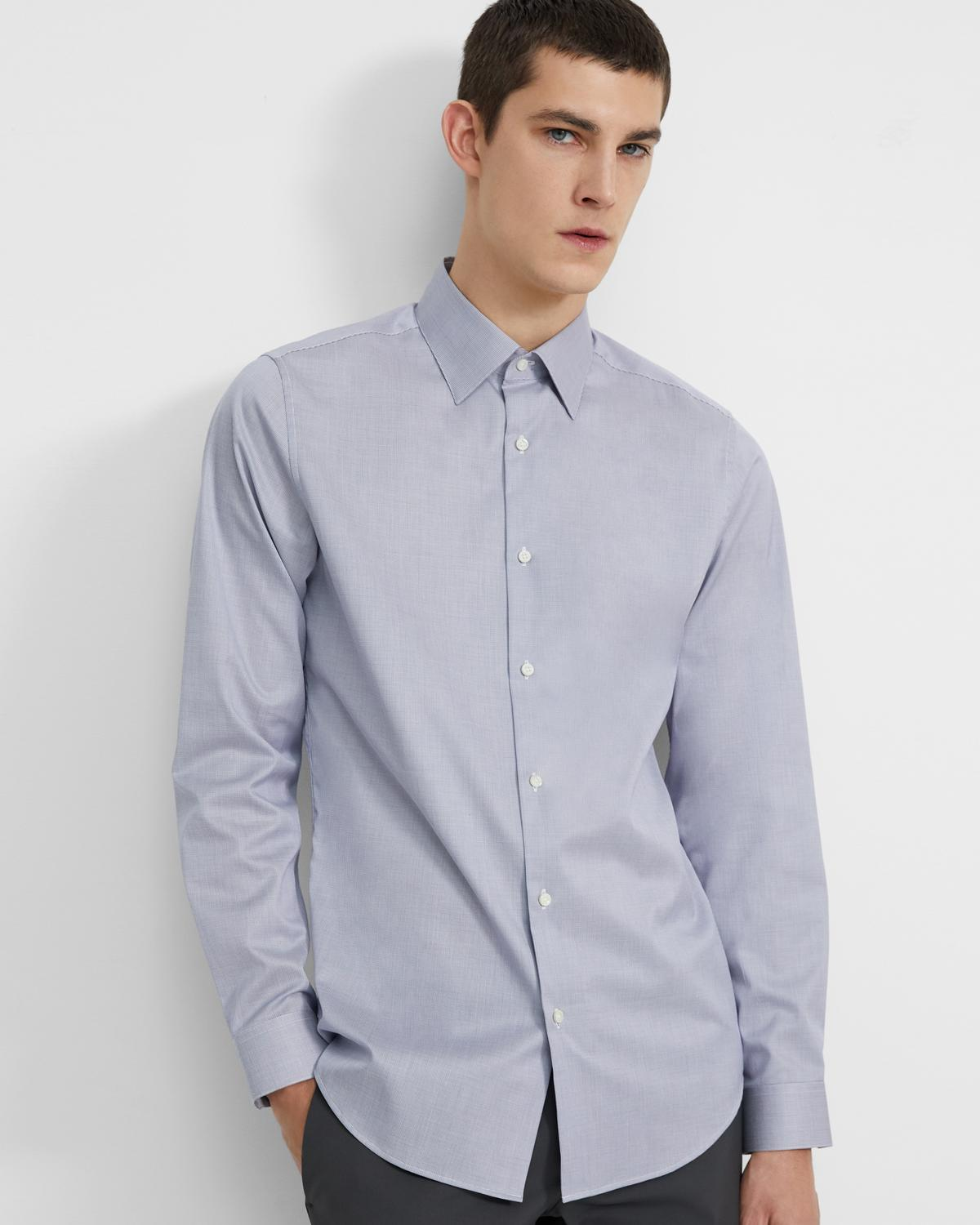 Cedrick Dress Shirt in Printed Cotton