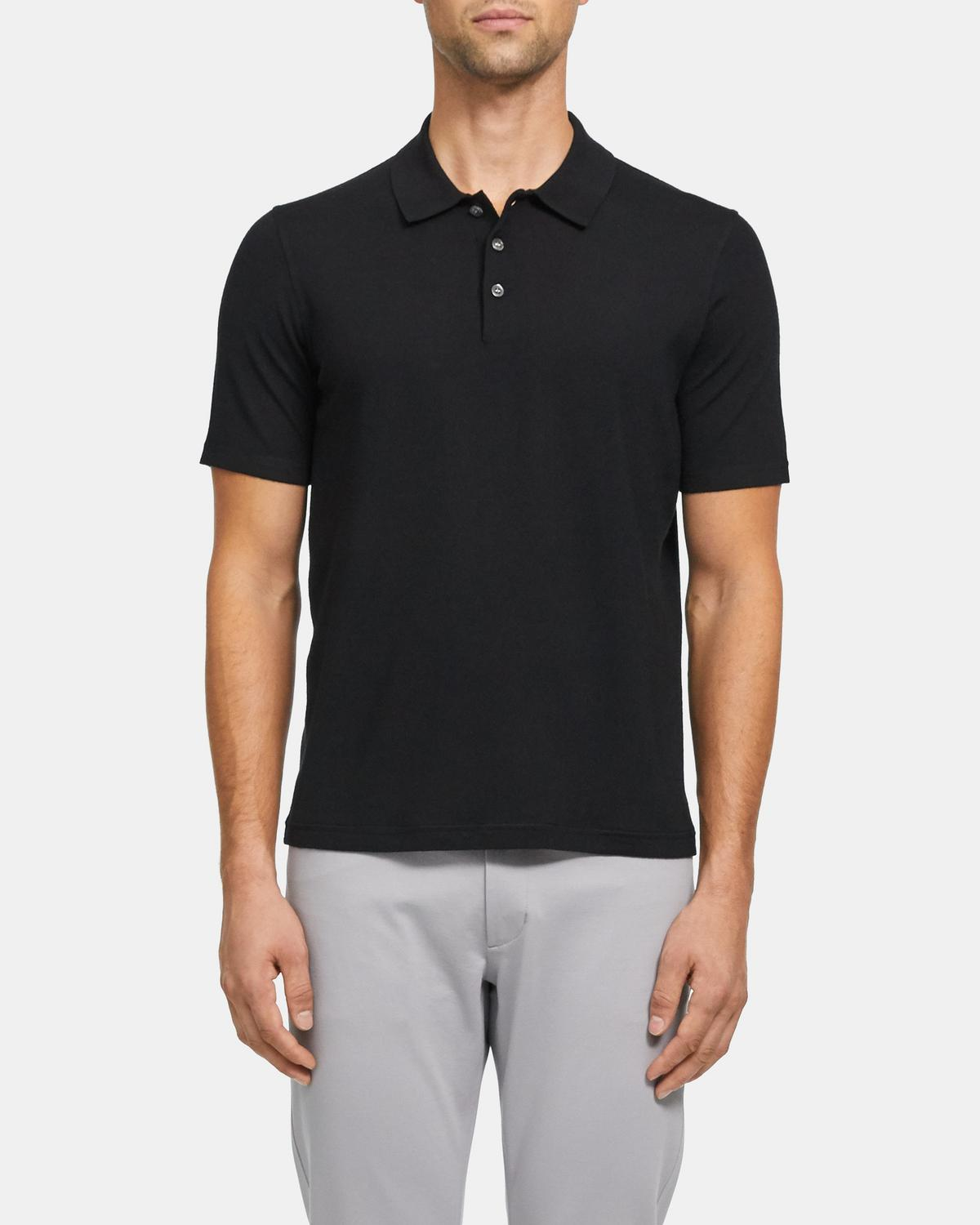 Polo Shirt in Regal Wool