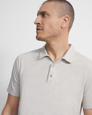 Polo Shirt in Slub Cotton