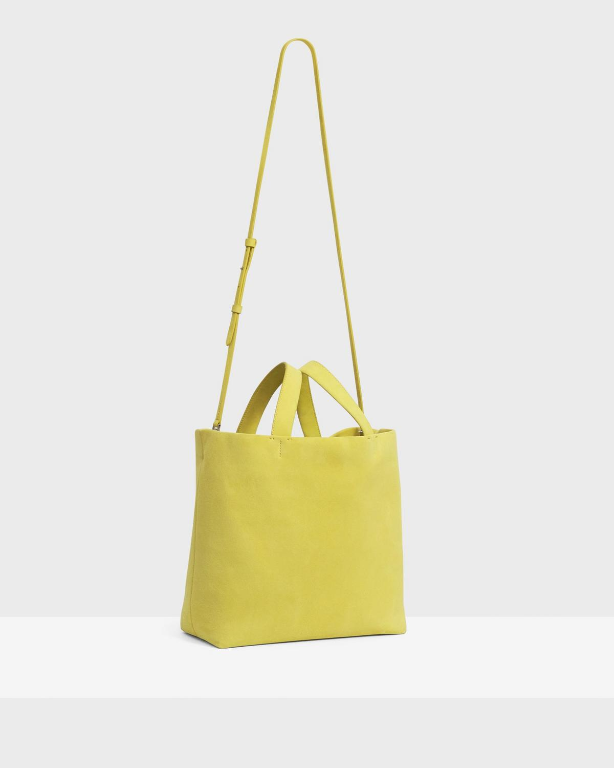 Medium Simple Tote in Suede