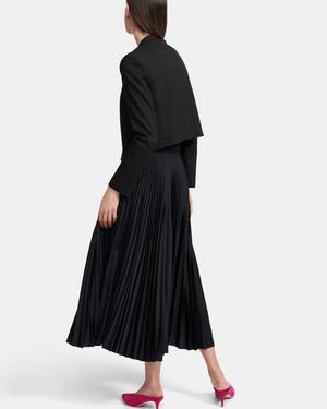 Collarless Blazer in Good Linen