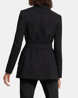 Belted Blazer in Good Linen