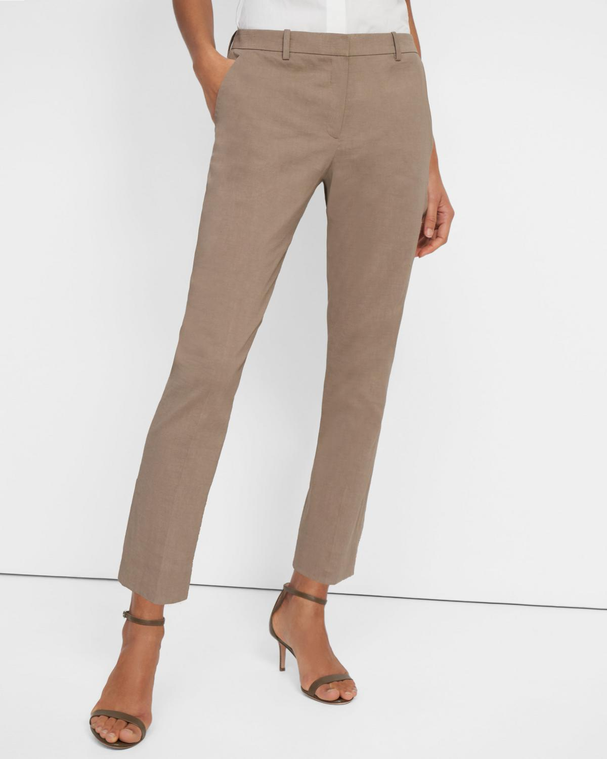 Treeca Pant in Good Linen