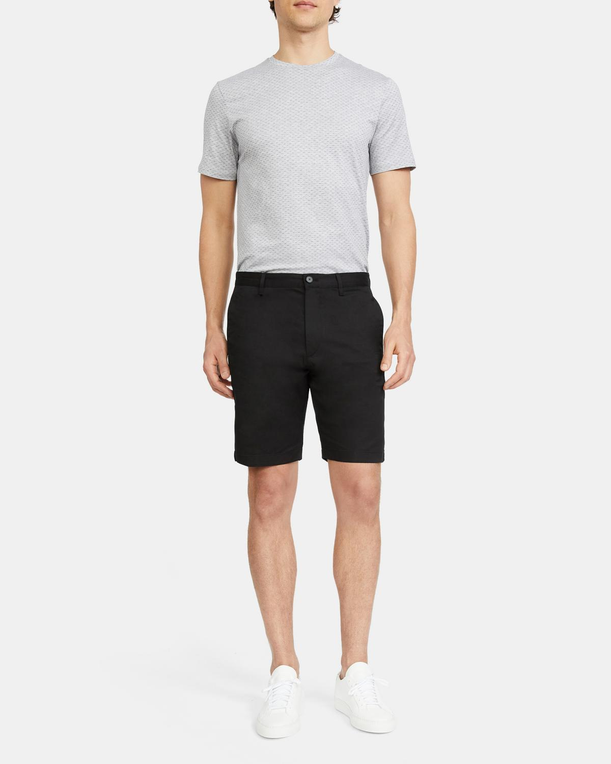 Classic-Fit Short in Stretch Cotton Twill
