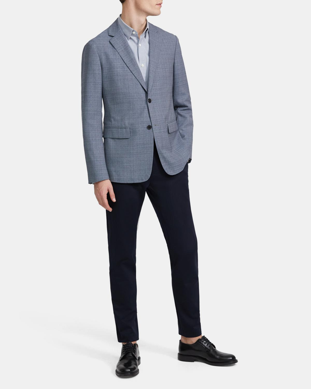 Clinton Blazer in Textured Wool