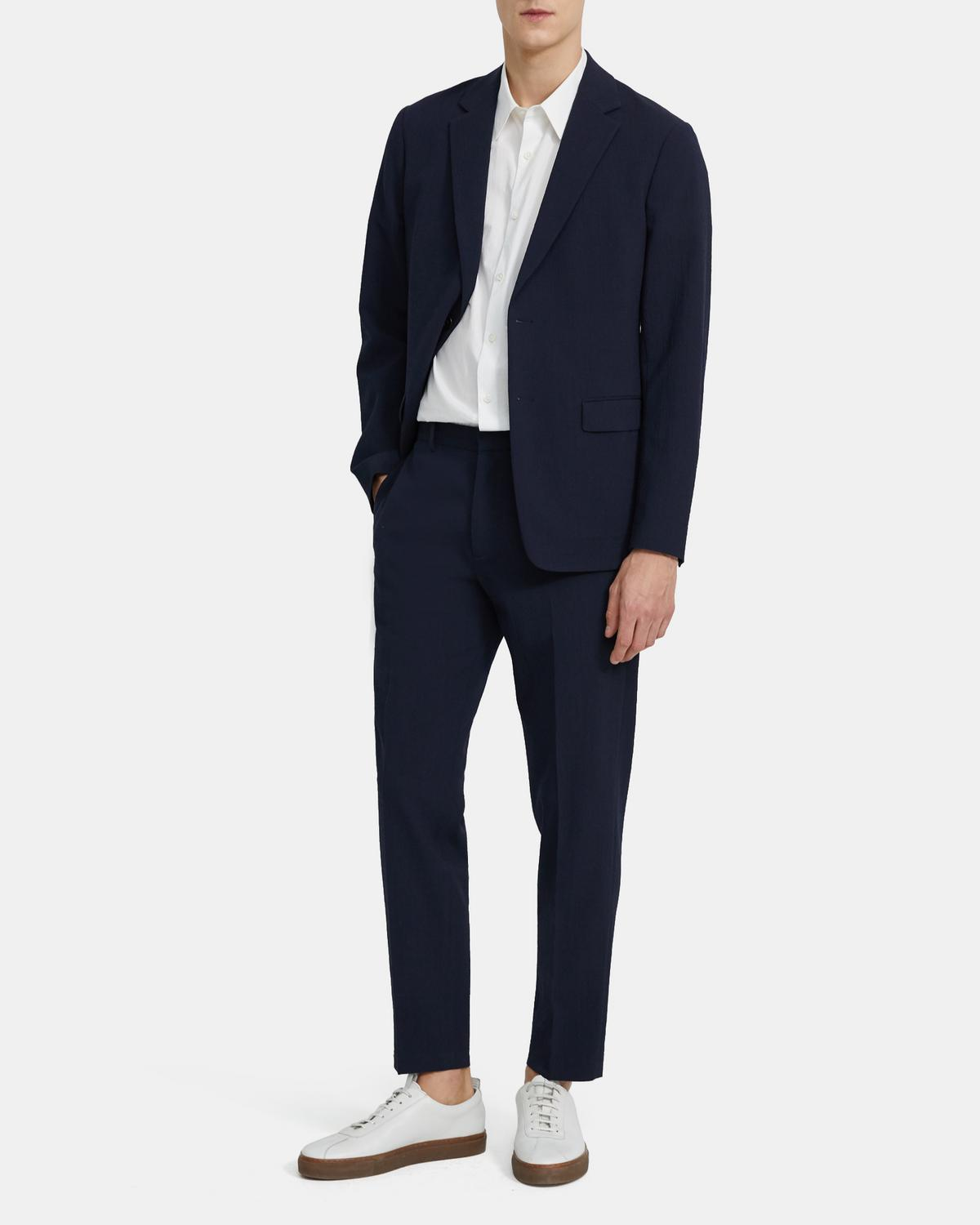 Curtis Pant in Seersucker Stretch Wool