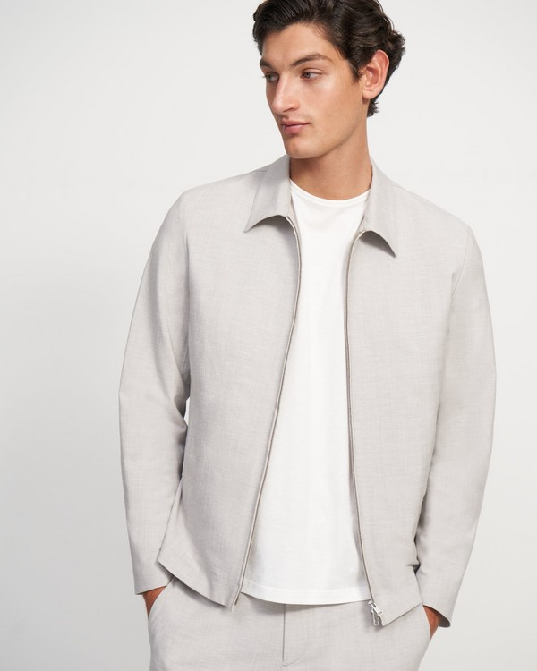 Zerega Jacket in Wool Blend