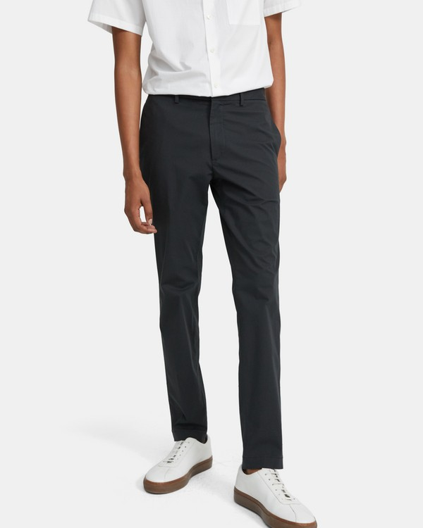 Classic-Fit Pant in Slub Poplin