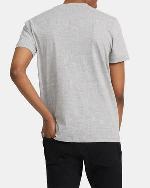 Basic Tee in Printed Jersey