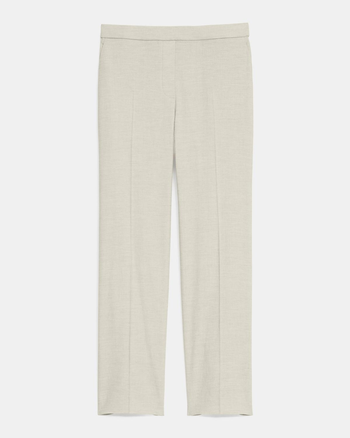 Treeca Pull-On Pant in Textured Good Linen