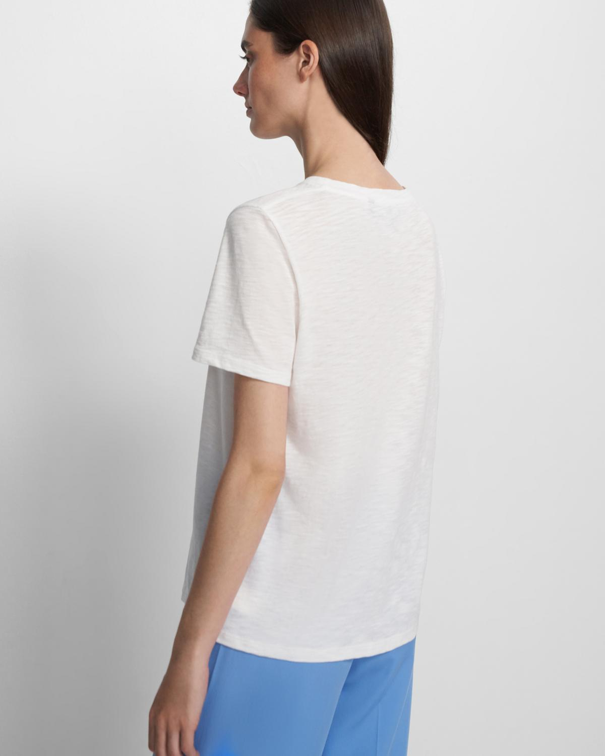 Easy Tee in Organic Cotton   Theory
