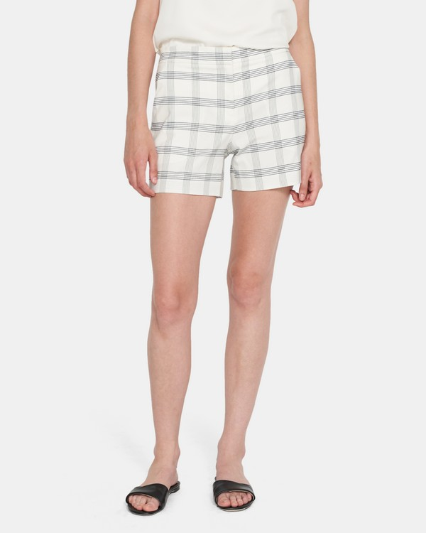 Lynie Shorts In Plaid