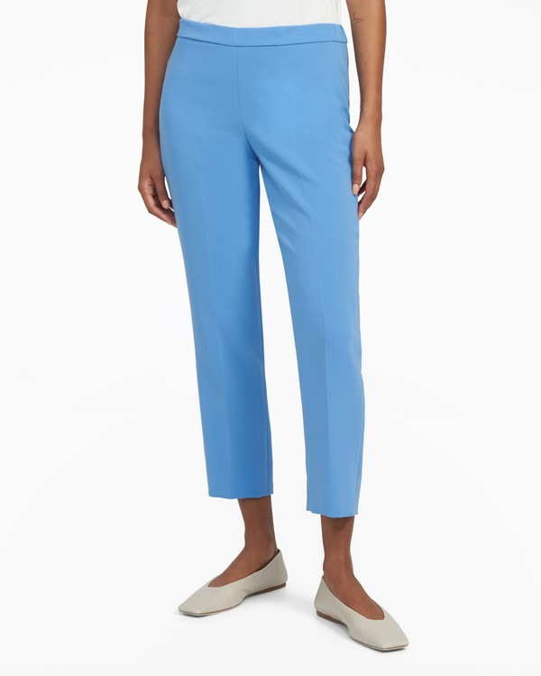Basic Pull-On Pant in Crepe