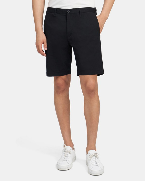 Classic-Fit Short In Cotton Twill