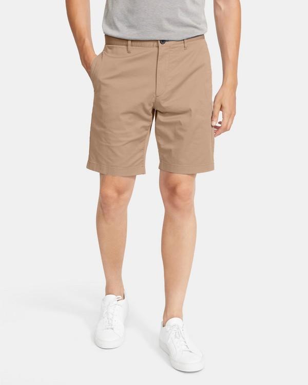 띠어리 맨 제인 반바지, 코튼 트윌 Theory Classic-Fit Short In Cotton Twill,BARK