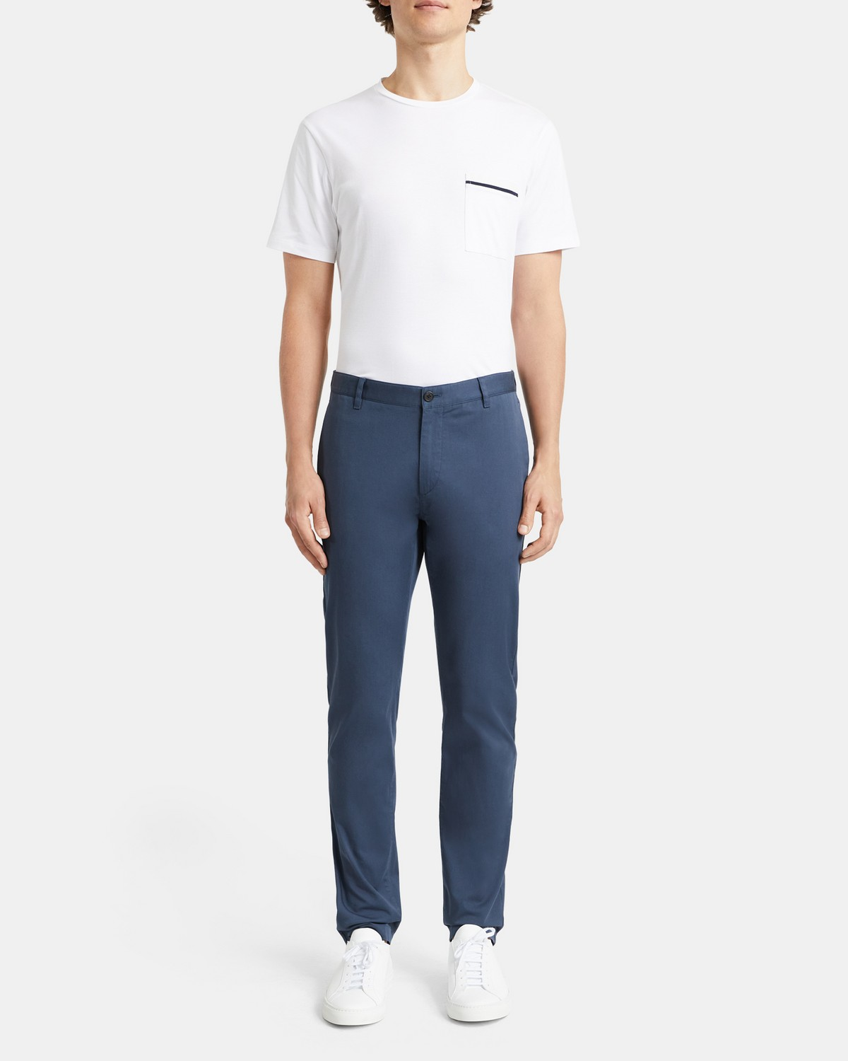 Classic-Fit Pant in Stretch Cotton Twill