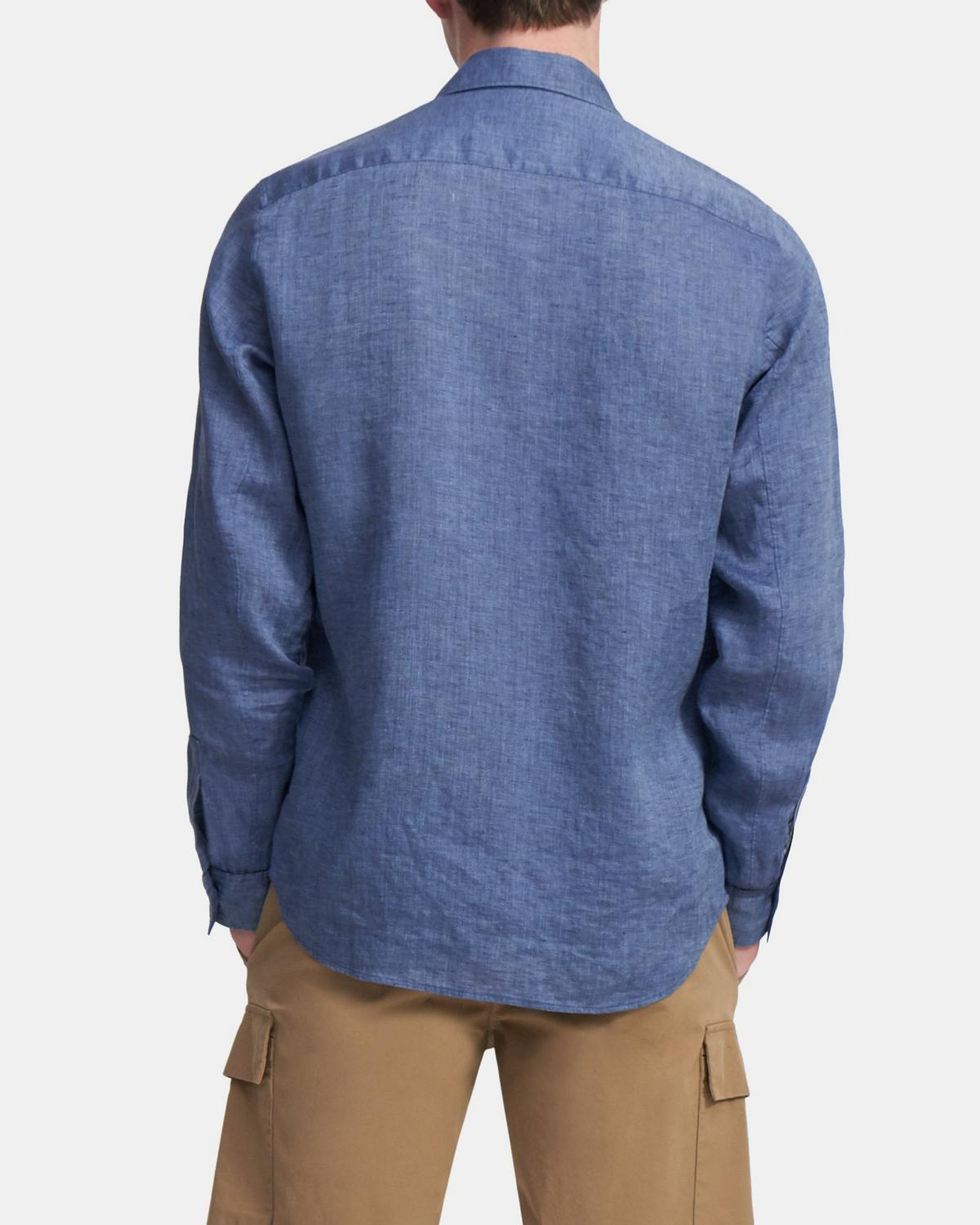 Irving Shirt in Summer Linen
