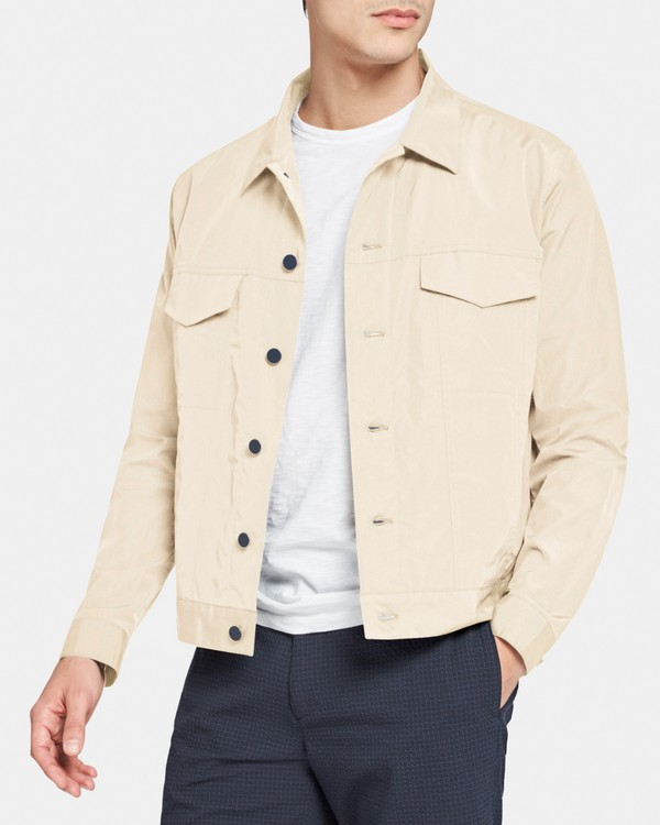 Jean Jacket in Cotton-Nylon