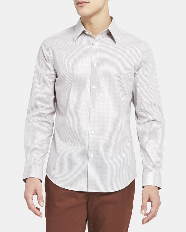 Sylvain Shirt in Stretch Cotton