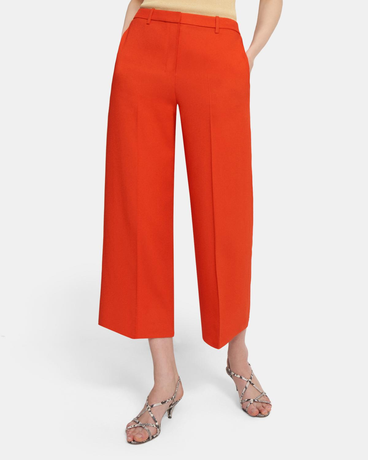 CROP WIDE PANT 0 - click to view larger image