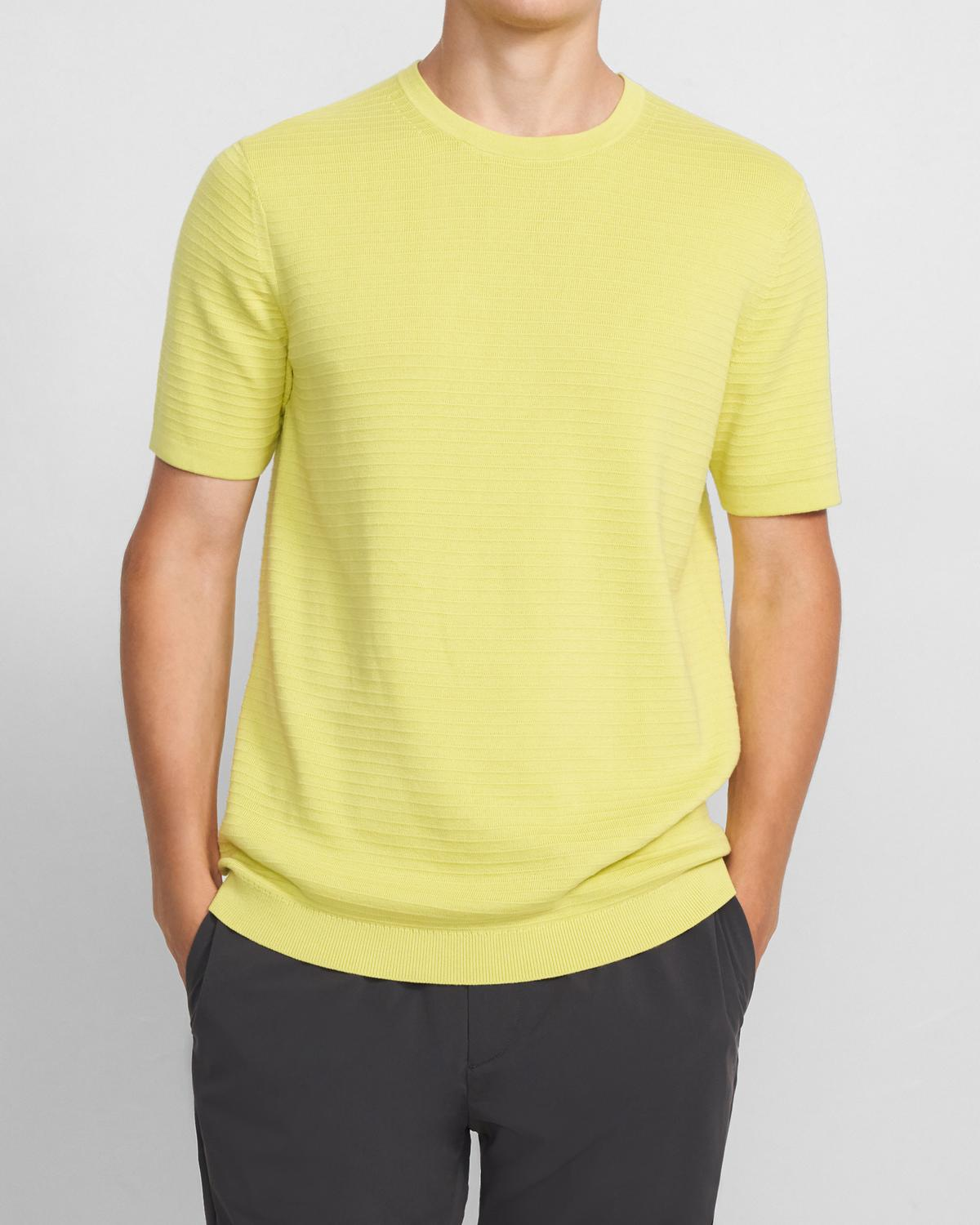 Gades Tee in Piqué Cotton 0 - click to view larger image