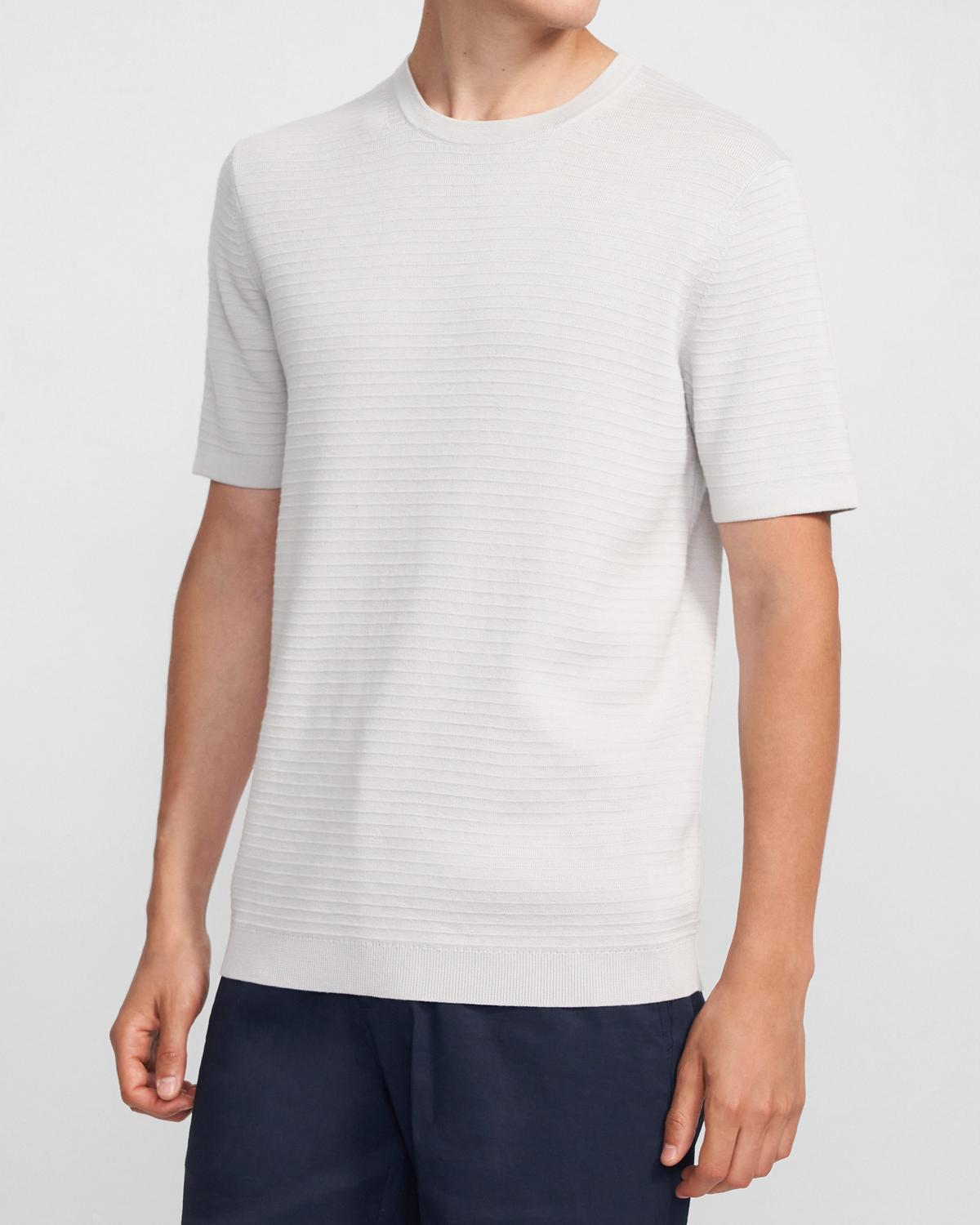 Gades Tee in Piqué Cotton